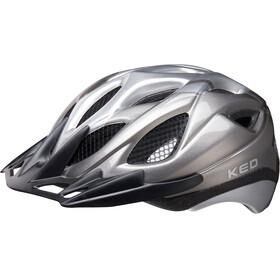KED Tronus casco per bici nero